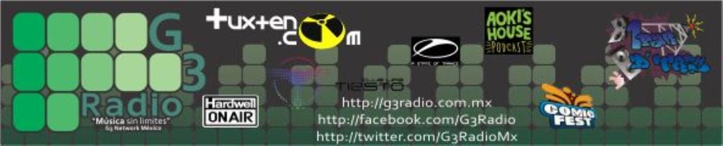 G3 Radio México | La Radio Geek