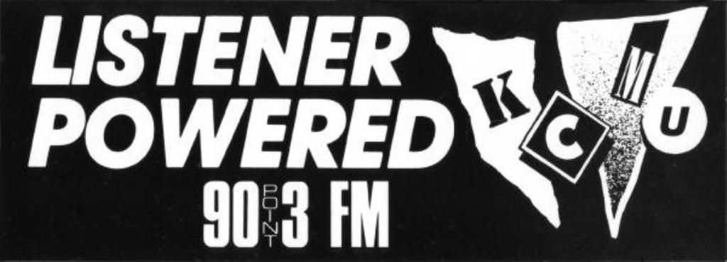 KCMU 90.3 FM