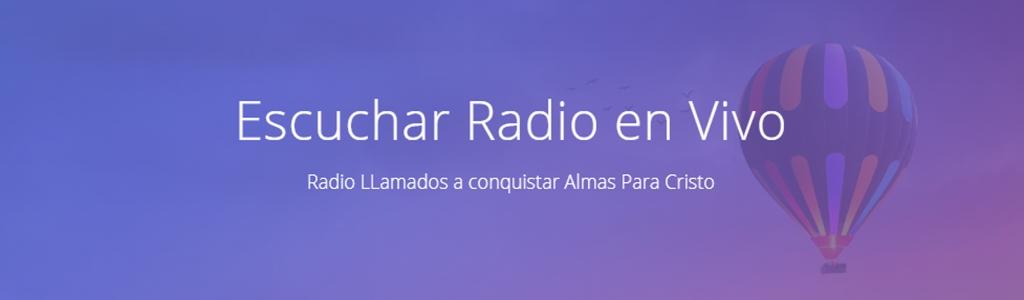 RADIO LLAMADOS A CONQUISTAR