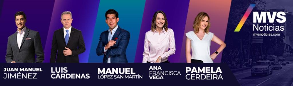 MVS Noticias 102.5 FM Ciudad de México