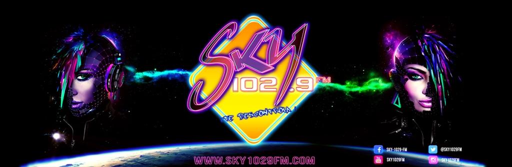Sky 102.9 FM.