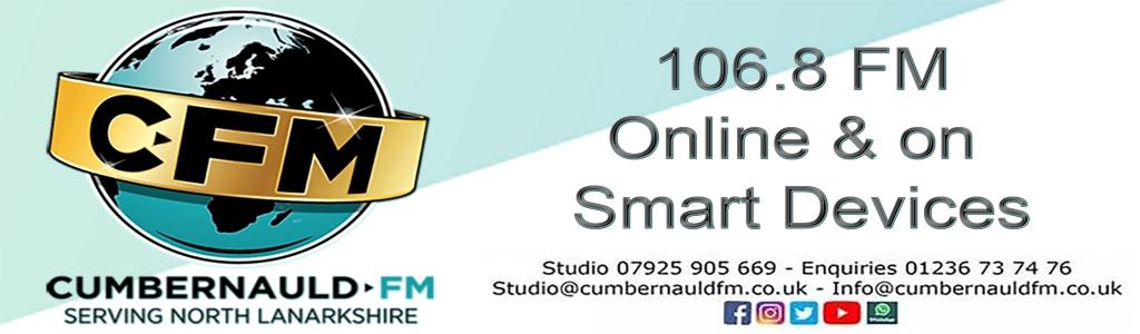 CumbernauldFM - CFM106.8 FM