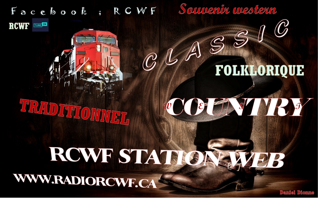 RCWF Station Radiophonique Country and Western