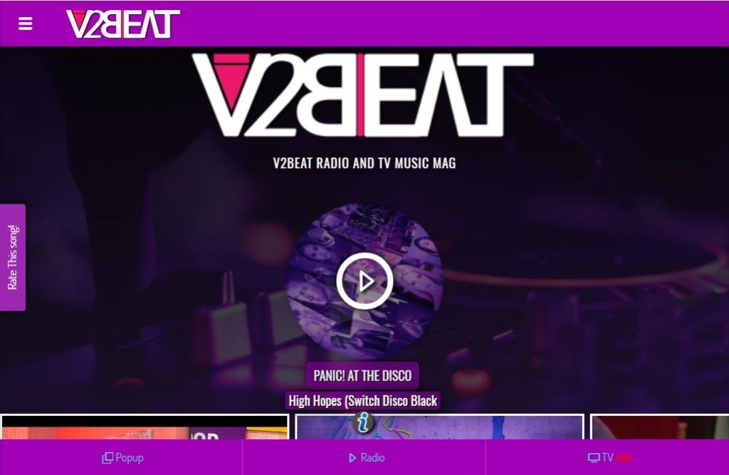 V2BEAT RADIO TV