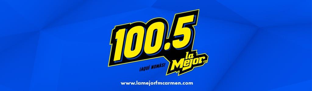La Mejor 100.5 FM Ciudad Del Carmen