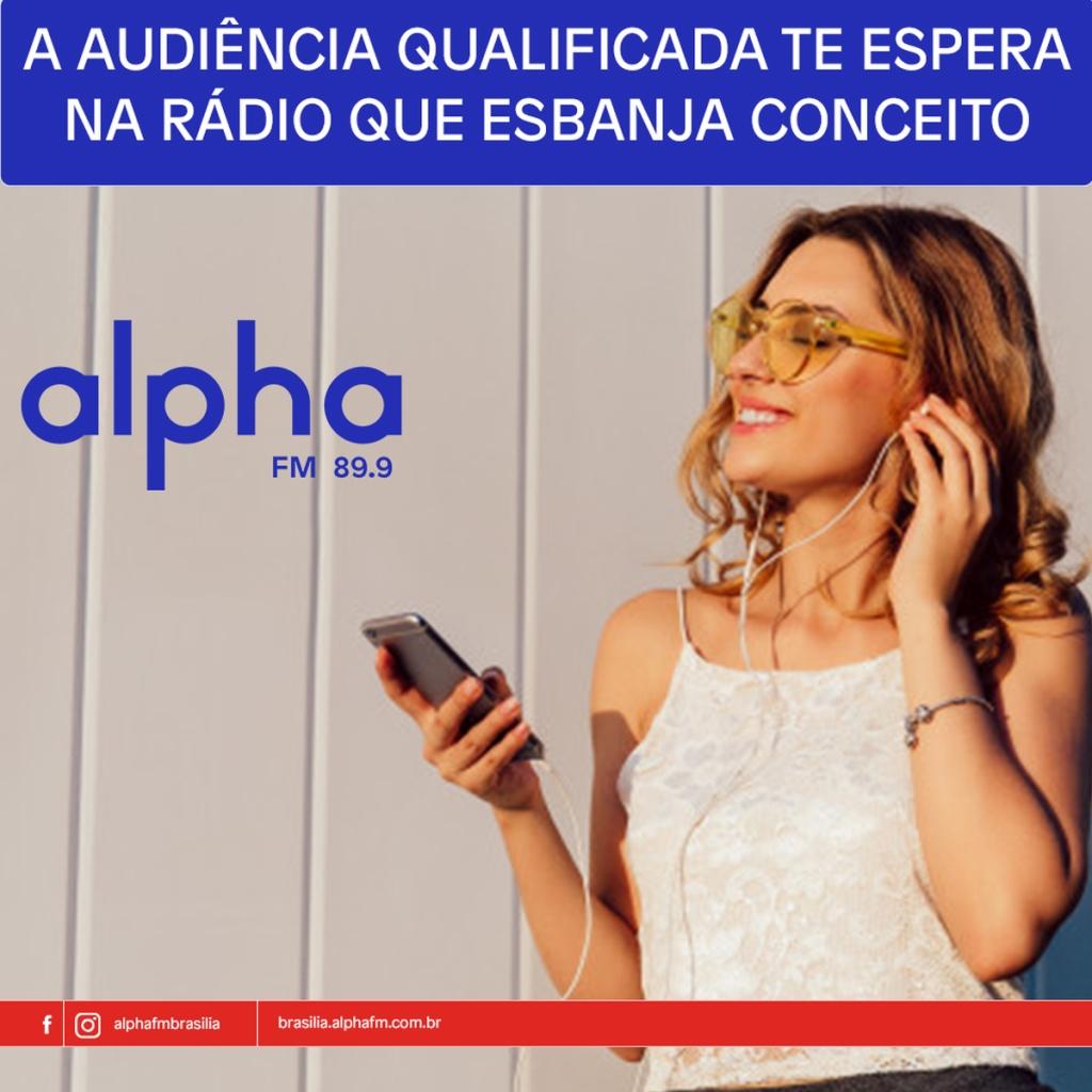 Rádio Alpha FM Brasília