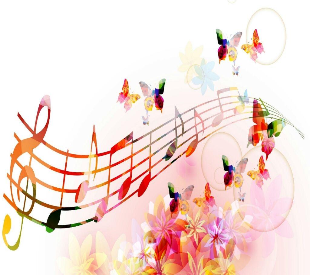 волшебство музыки картинка начались